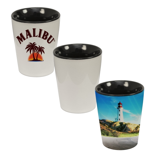 A Hot Seller - This Full-wrap And Color Shot Glass Is Sure To Fly Of The Shelves! Photo