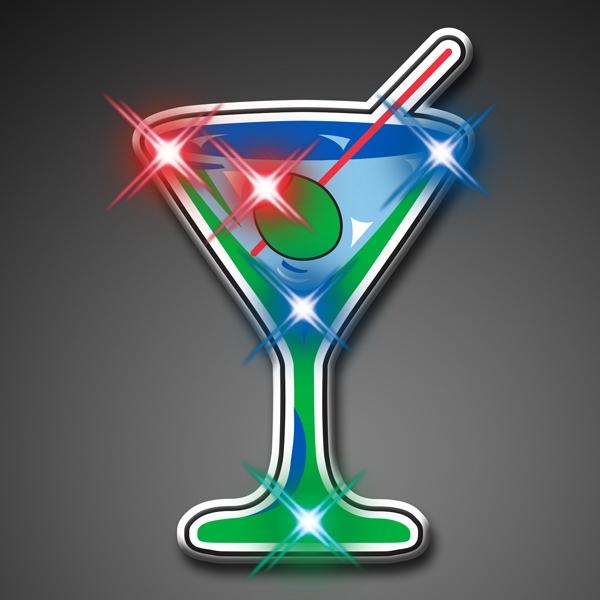 Martini Blinky Lights