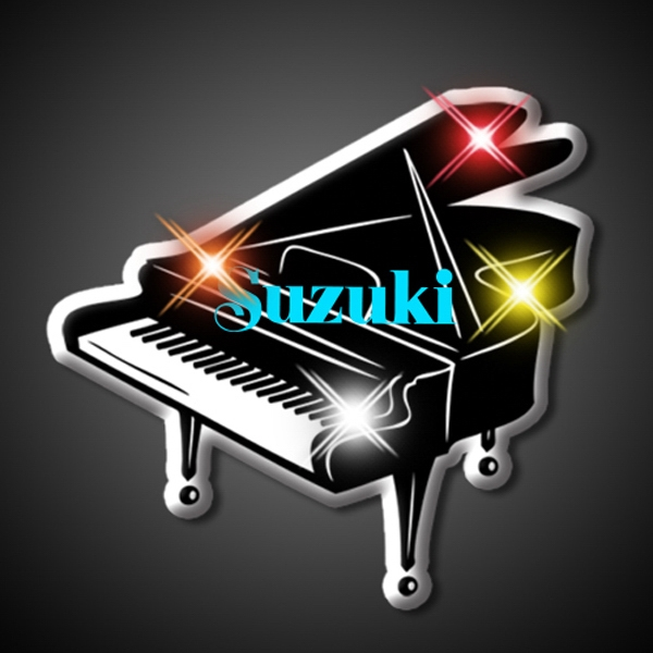 Piano Flashing Blinking Lights