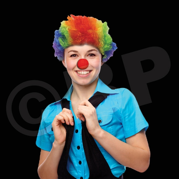 Foam Clown Nose, Blank Photo