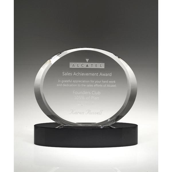 """Aurora Ellipse Award 6 1/4"""""""