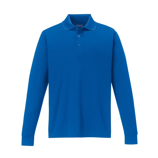 Core 365 (tm) North End Pinnacle - 5 X L - Men's Performance Long Sleeve Pique Polo Photo