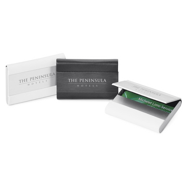 Sobe - Business Card Holder With Hidden Magnetic Closure And Felt Lining Photo