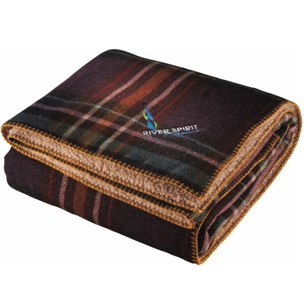 "Hickory Run Woolrich (r) - Throw, 50""h X 68""w Photo"