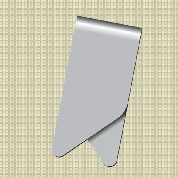 Keepaklip - Eco Friendly Blank Metal Paper Clips Photo