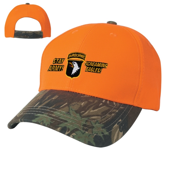Hitwear (r) - Two-tone Camouflage Cap Made Of 100% Cotton Twill Photo