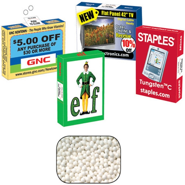 Mint Man - Advertising Mint/candy/gum Box With Signature Peppermints. Eco Friendly Mint Box Photo