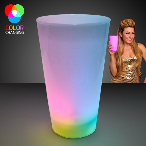 Multicolor LED Glow Cups