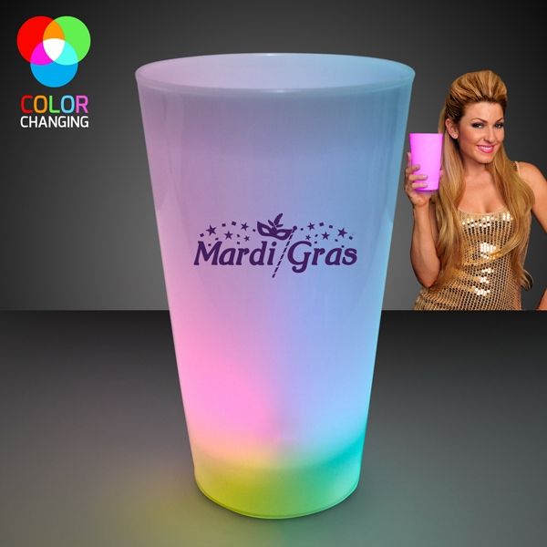 LED Multicolor Glow Cups