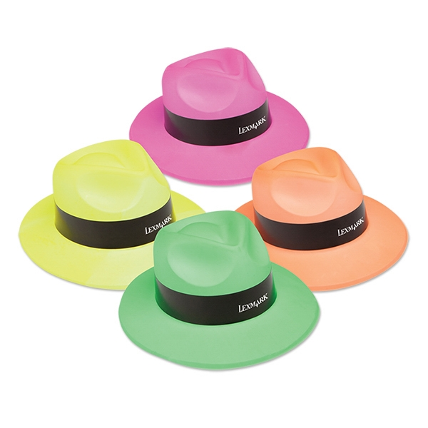 Neon Gangster Hats