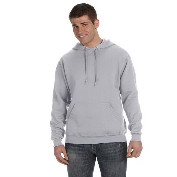 Fruit Of The Loom (r) Best (tm) - Neutrals S- X L - Eight Oz. 50% Cotton/50% Polyester Hooded Sweat Shirt With Pouch Pocket Photo