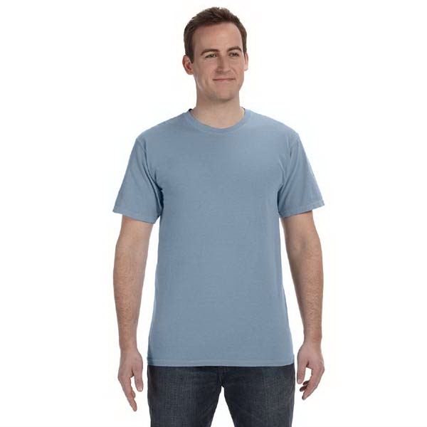Authentic Pigment - S- X L - 5.6 Oz. Pigment-dyed And Direct-dyed Ringspun T-shirt Photo