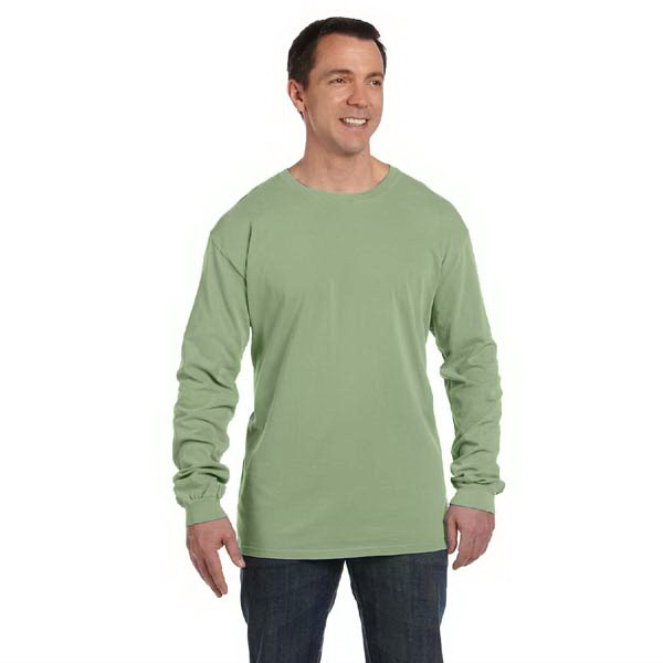 Authentic Pigment - 2 X L - Pigment-dyed And Direct Dyed Cotton Long Sleeve T-shirt Photo
