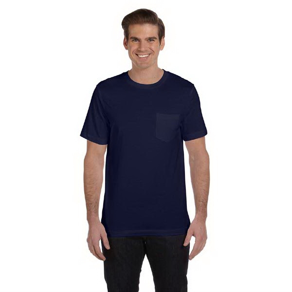Bella + Canvas (tm) Los Angeles The Retail Jersey Collection - Colors S- X L - Men's 4.2 Oz Jersey Pocket T-shirt Photo