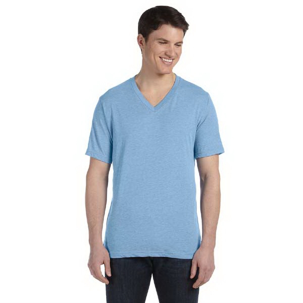 The Triblend Collection Bella + Canvas (tm) Los Angeles - S- X L - Men's 3.4 Oz Short Sleeve V-neck T-shirt Photo