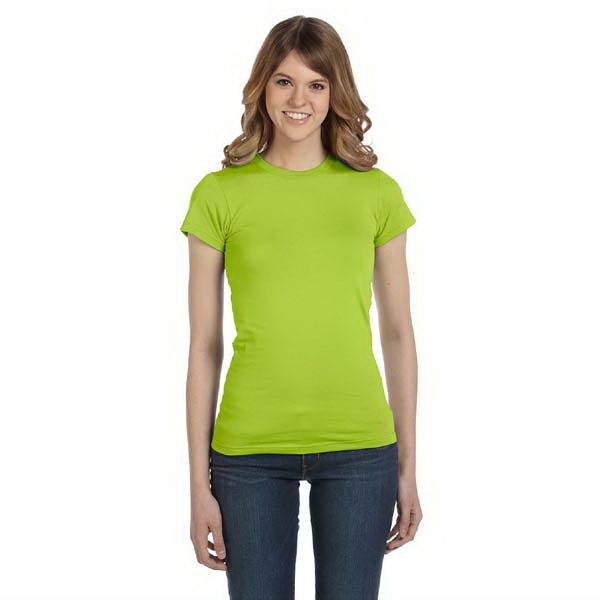 Anvil (r) - Neutrals S- X L - Ladies' Semi Sheer Crew Neck T-shirt Photo