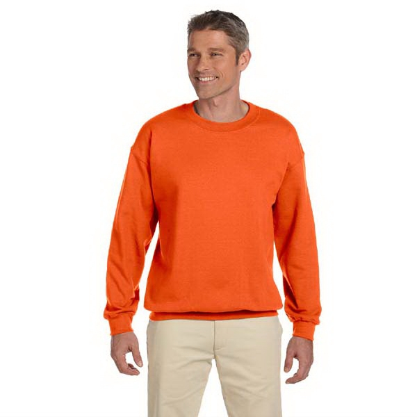 Jerzees (r) - Heathers S- X L - Polyester/cotton 9 Oz. Fleece Sweat Shirt With Ribbed Neck Photo