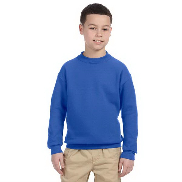 Jerzees (r) - Heathers - Youth Polyester/cotton Fleece Sweat Shirt Photo