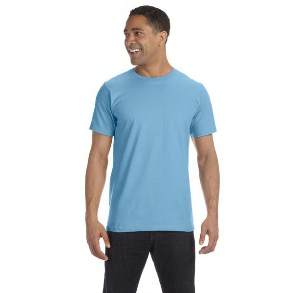 Anvil (r) - Colors  X S- X L - Men's 4.5 Oz. Organic Ringspun Cotton T-shirt Photo