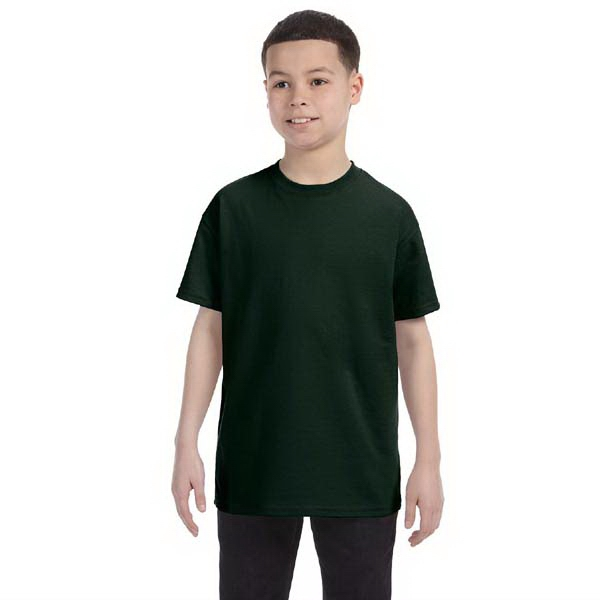 Hanes (r) Tagless (r) - Neutrals - Youth 6.1 Oz. Tagless (r) Comfortsoft (r) T-shirt Photo