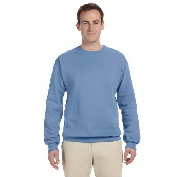Jerzees (r) - Heathers 3 X L - 8 Oz. Nublend (tm) 50/50 Fleece Crew Sweatshirt Photo