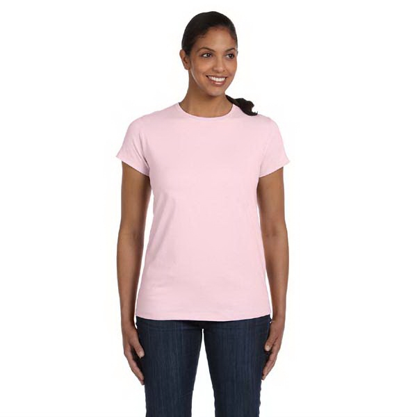 Hanes (r) - Neutrals S- X L - Ladies' 5 Oz. Comfortsoft (r) Cotton T-shirt Photo