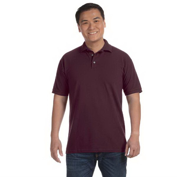 Anvil (r) - Heathers 3 X L - Men's 6.5 Oz. Pique Sport Shirt Photo