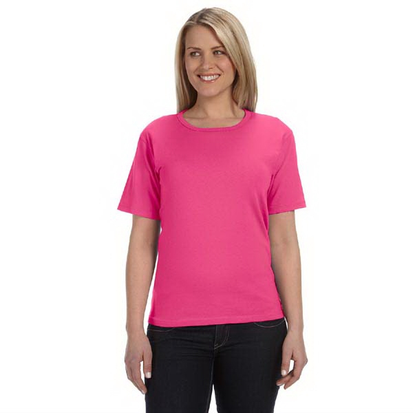 Anvil (r) - Colors 2 X L - Ladies' Scoop Neck T-shirt Photo