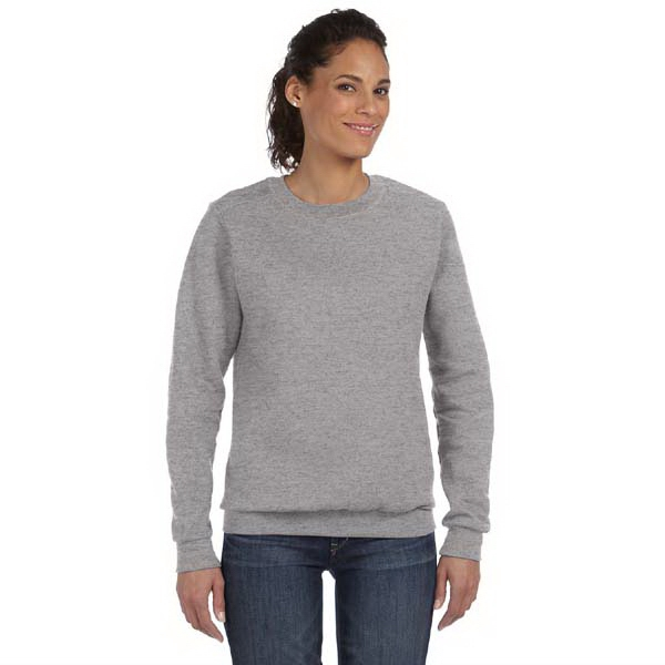 Anvil Ladies' Crewneck Fleece