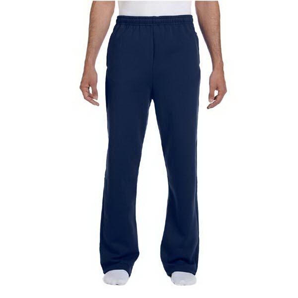 8 oz NuBlend (R) 50/50 Open Bottom Sweat pants