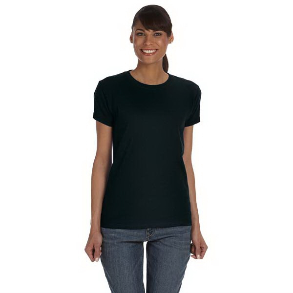 Anvil (r) - Neutrals S- X L - Ladies' 5.4 Oz. Basic Cotton T-shirt Photo