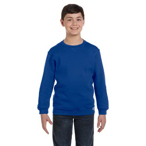 Russell Athletic (r) - Youth Fleece Crew Sweatshirt Photo