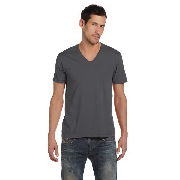 Alternative (r) - White S- X L - Men's 3.7 Oz Basic V-neck Shirt Photo