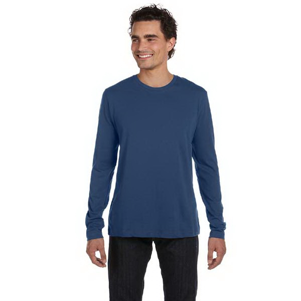Alternative (r) - Heathers S- X L - Men's 4.3 Oz, 100% Cotton Jersey Long Sleeve Basic Crew T Shirt Photo