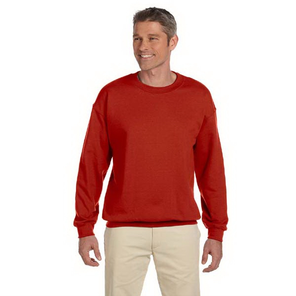Hanes (r) - Heathers S- X L - Crew Neck Heavyweight Fleece Sweat Shirt Photo
