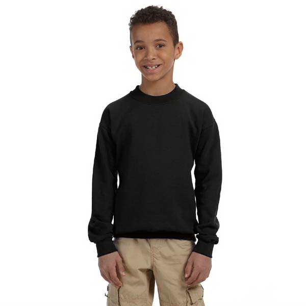 Gildan (r) - Heathers - Youth 8 Oz. Heavy Blend (tm) 50/50 Fleece Crew Sweatshirt Photo