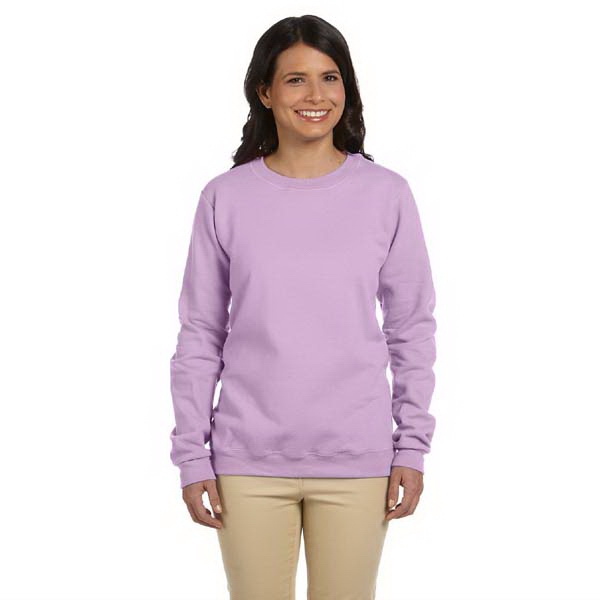 Gildan (r) - S- X L - Ladies' 8 Oz. Heavy Blend (tm) 50/50 Fleece Crew Sweatshirt Photo