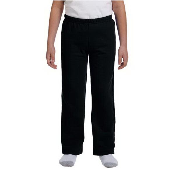 Youth 8 oz Heavy Blend (TM) 50/50 open-bottom sweat pants