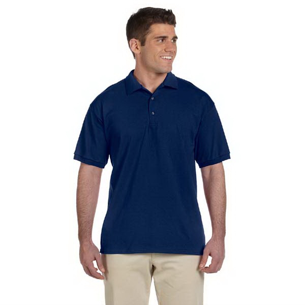 Gildan (r) - Heathers S- X L - Preshrunk Cotton Jersey Polo Shirt, 6.1 Oz Photo