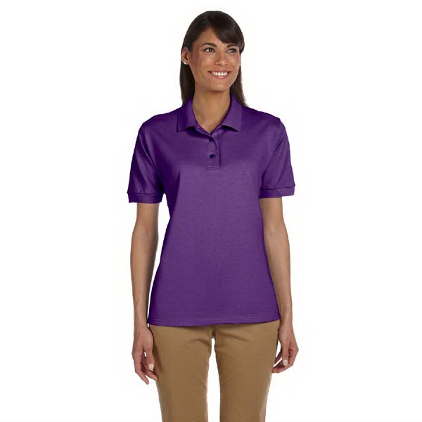 Gildan (r) - Heathers 2 X L - Ladies' 6.5 Oz., Ringspun Pique Polo Shirt Photo