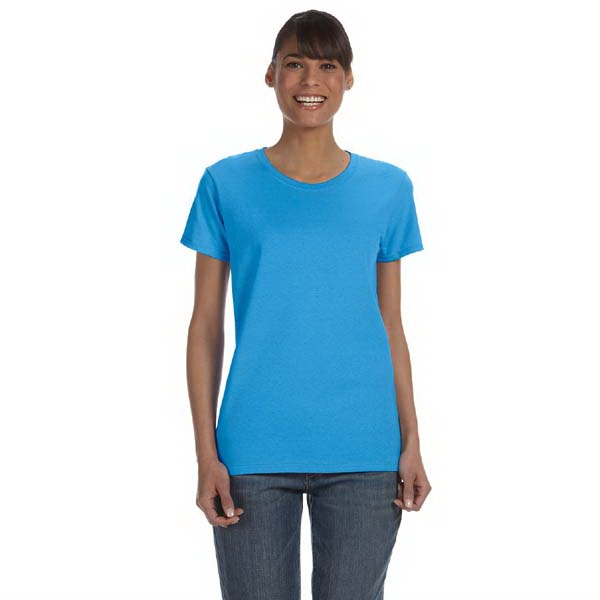 Gildan (r) - Colors S- X L - Ladies' 5.3 Oz Heavy Cotton Missy Fit T-shirt Photo