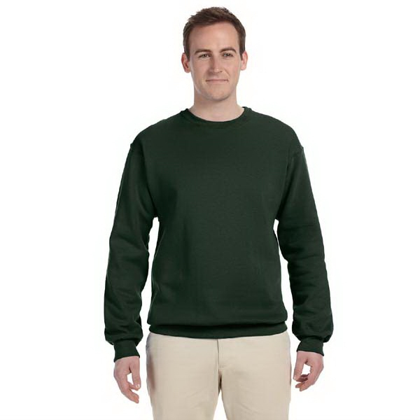 Gildan (r) - Heathers 2 X L - Fleece Styled Crew Neck Sweatshirt With 2x1 Ribbed Collar, 9.5 Oz Photo