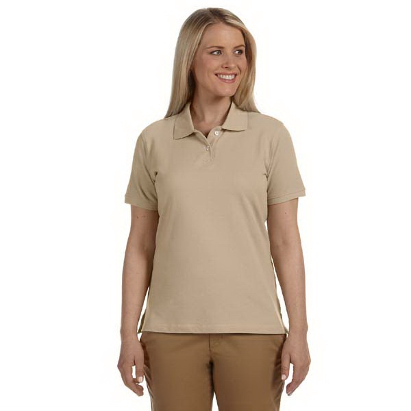 Harriton - S- X L - Ladies' Short-sleeve Ringspun Cotton Pique Polo Shirt, 6.5 Oz Photo