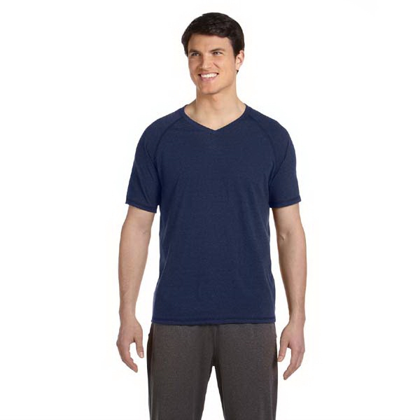 Alo (r) - S- X L - Men's Short Sleeve V-neck T-shirt Photo