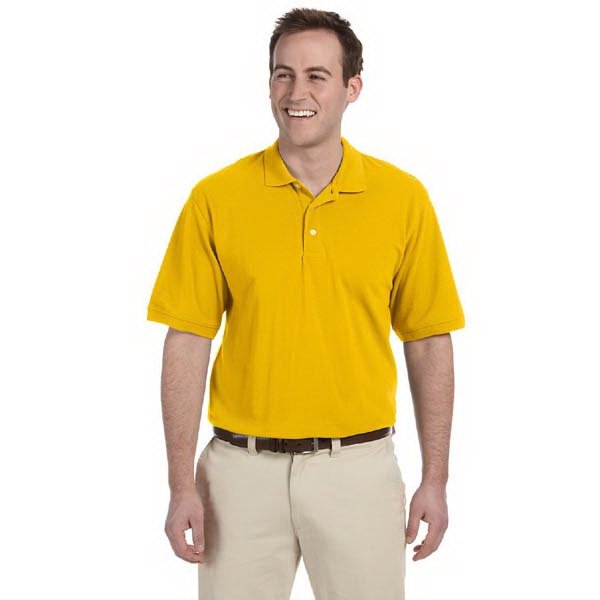 Harriton - 2 X L - Men's 5.6 Oz., Polo Shirt Made From Polyester/cotton Pique Photo