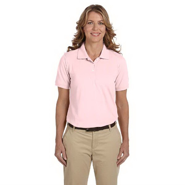 Harriton - 2 X L - Ladies' 5.6 Oz. Polo Shirt With Softly Shaped Feminine Fit Photo