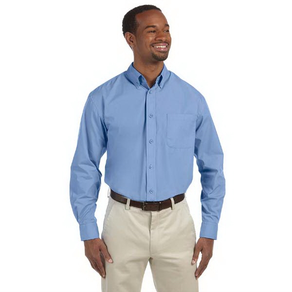 Harriton - S- X L - Men's 3.3 Oz. Value Poplin Shirt Photo