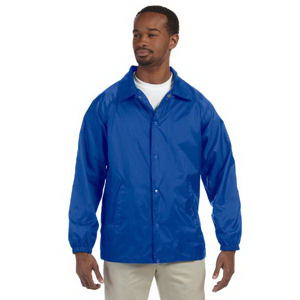 Harriton - S- X L - Wind And Water Resistant Nylon Staff Jacket Photo
