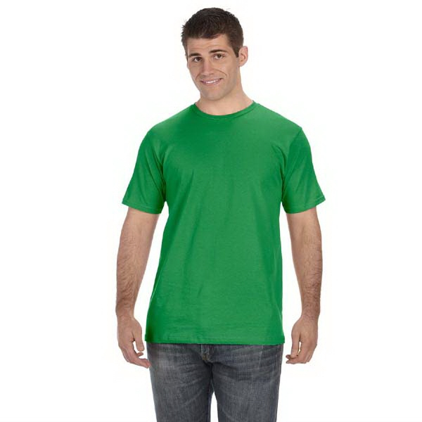 Anvil (r) - Colors 2 X L - Men's 100% Organic Cotton T-shirt, 5 Oz Photo