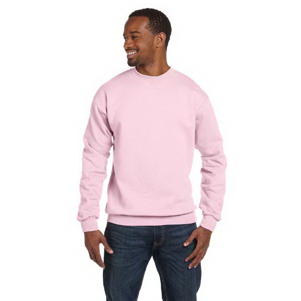 Hanes (r) - Heathers S- X L - Polyester/cotton Fleece Crew Sweatshirt With High-stitch Density Fleece Photo